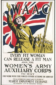 Ep. 103 – The impact of military service for women who served in WW1 – Jane Clarke