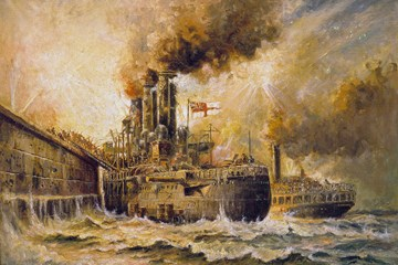 ONLINE: Hearts of Oak - The Zeebrugge Raid 23 April 1918 by Clive Harris
