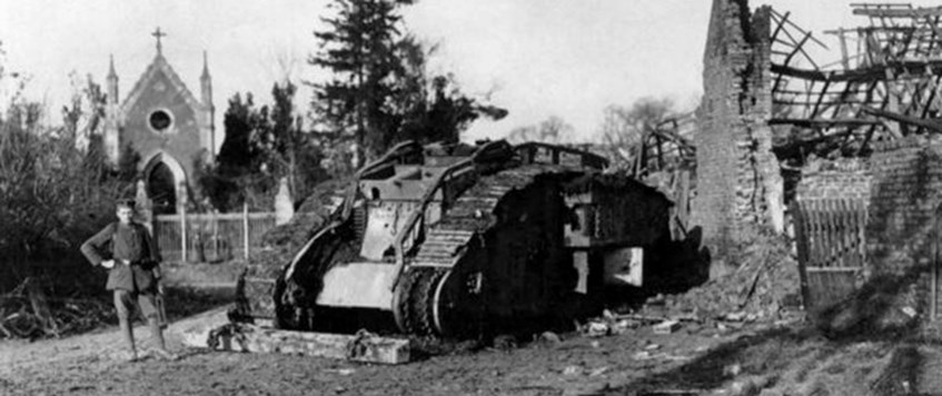 The Tanks' Road to Cambrai