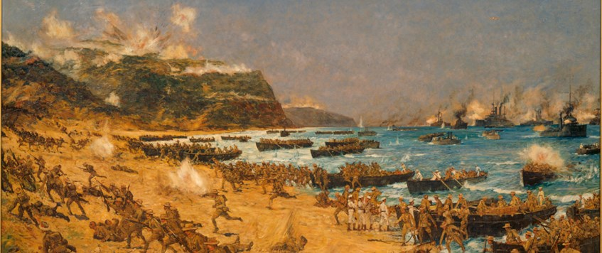 ONLINE: The Morale and Discipline of British and Anzac troops at Gallipoli