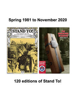 Stand To! 1 to 120 Full Contents Listing