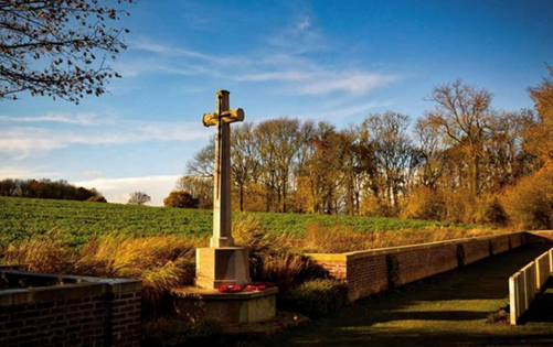 The Devonshire Cemetery at Mametz photographed by Martin Barry