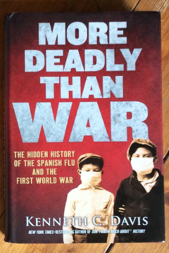 More Deadly Than War: the hidden history of the Spanish flu and the First World War by Kenneth Davis.