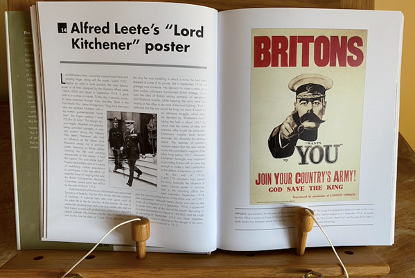 Alfred Leete's 'Lord Kitchener Poster' Double Page Spread