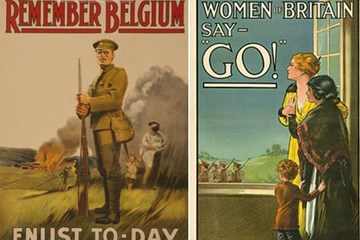 ONLINE: The Development and Influence of Propaganda by Britain 1914-18