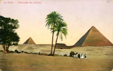 Postcard from Egypt 1914-1918
