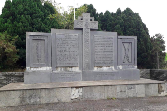 A monument to the 104 men of the IRA West Cork Brigade who carried out an attack at Crossbarry in March 1921 stands on the site of the battle - one of the largest of the Irish War of Independence.