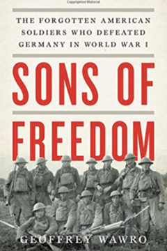 Sons of Freedom: The forgotten American Soldiers who defeated Germany in World War One by Geofrey Wawro
