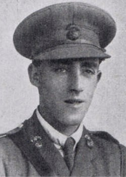 29 November 1917 2nd. Lieut. Hugh Hutchinson died of his wounds