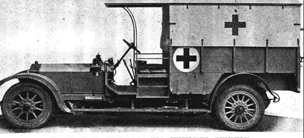 The Friends' Ambulance Unit's Motor Ambulance Convoys 1914-1918 with Paul Handford