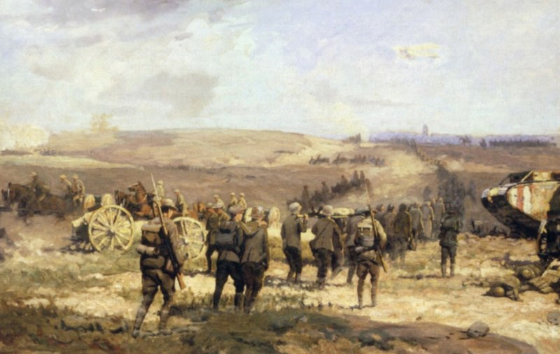 'At the Top of the Curve? - The BEF Striding Towards Victory in 1918'