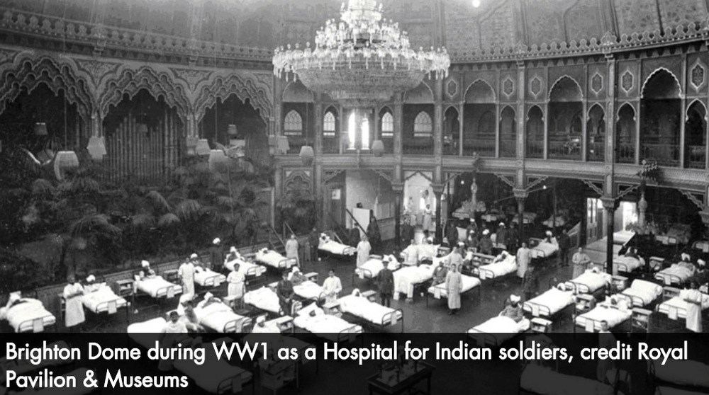 The Royal Pavilion, Brighton as an Indian Military Hospital 1914/16 – Amanda Scales