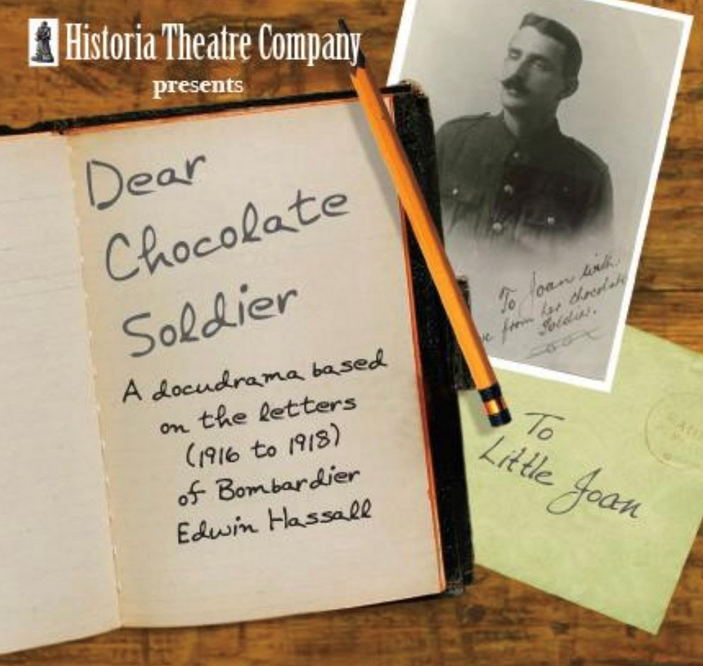 THEATRE: 'Dear Chocolate Soldier' : From 1 June