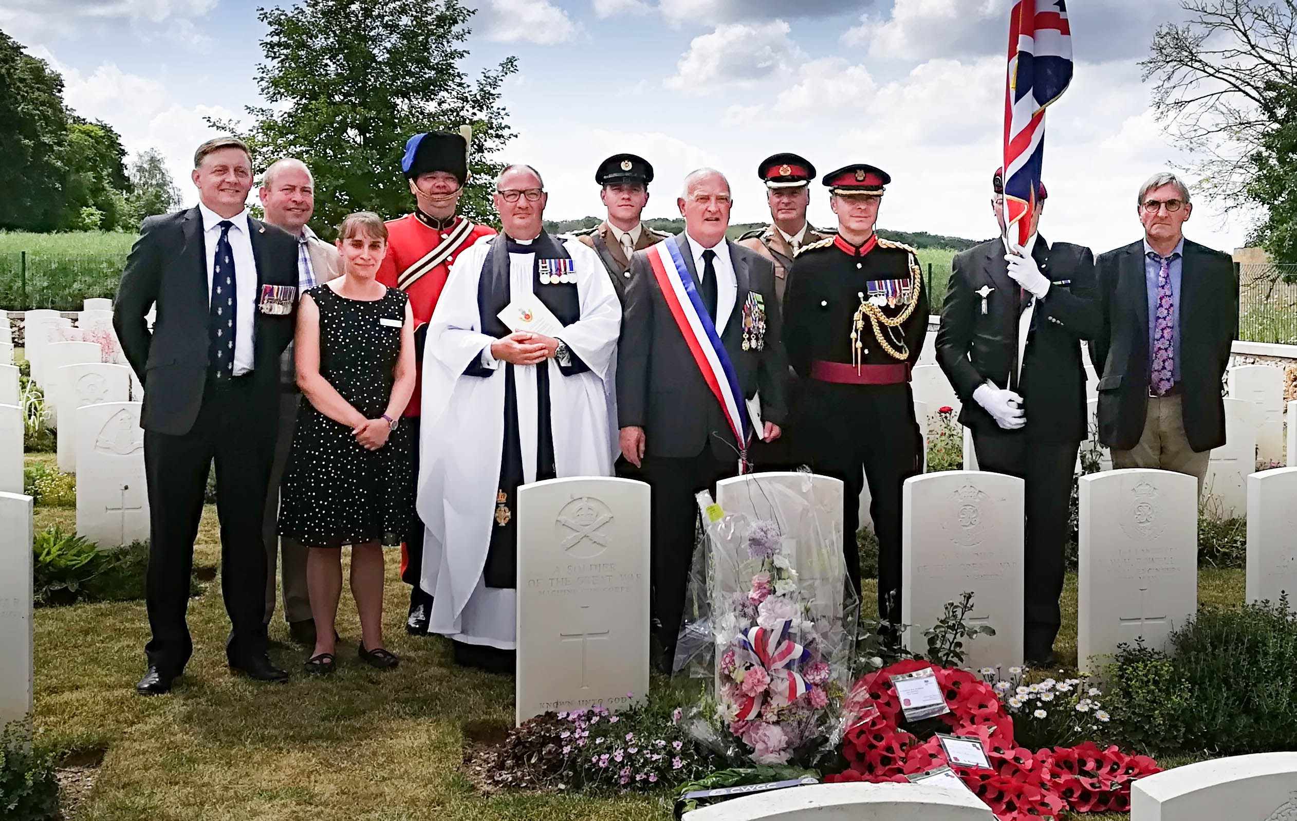 NEWS: David Tattersfield BBC Graves of Unknown Soldiers