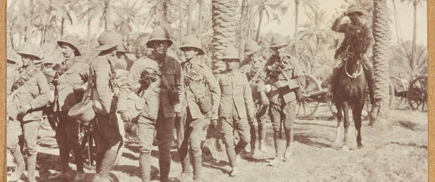'The British Army in Mesopotamia 1914-1918': a talk by Paul Knight