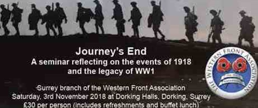 Journey's End - The Surrey Branch Seminar