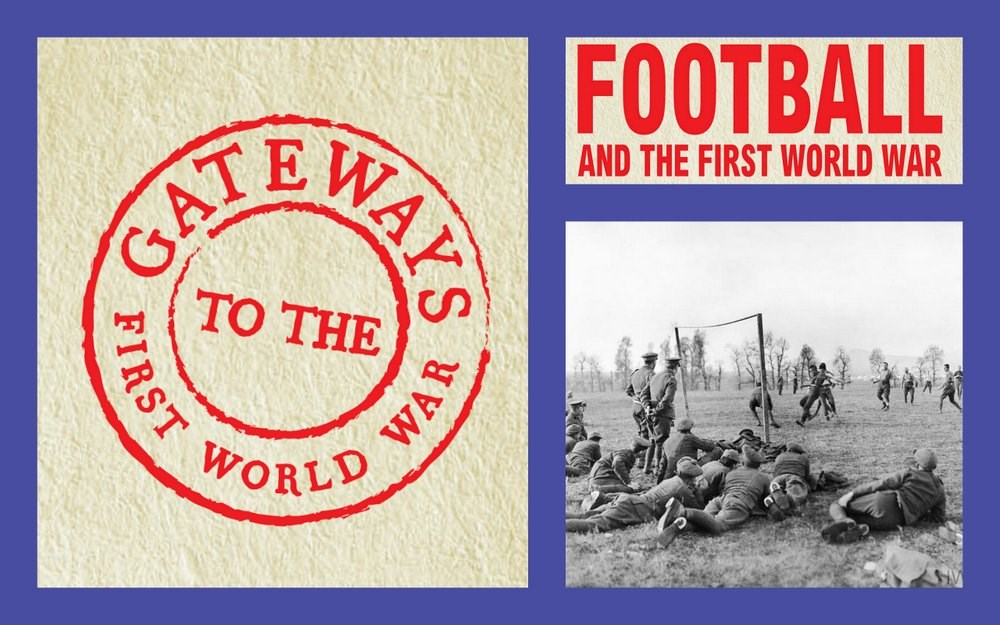 FREE: 'Football and the British Army in the Great War: Myths and Reality' with Dr Iain Adams : 30 November
