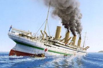 The Loss of the Britannic : 21 November 1916