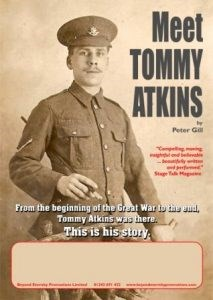 """Meet Tommy Atkins"" a One-Man Play by Peter Gill"