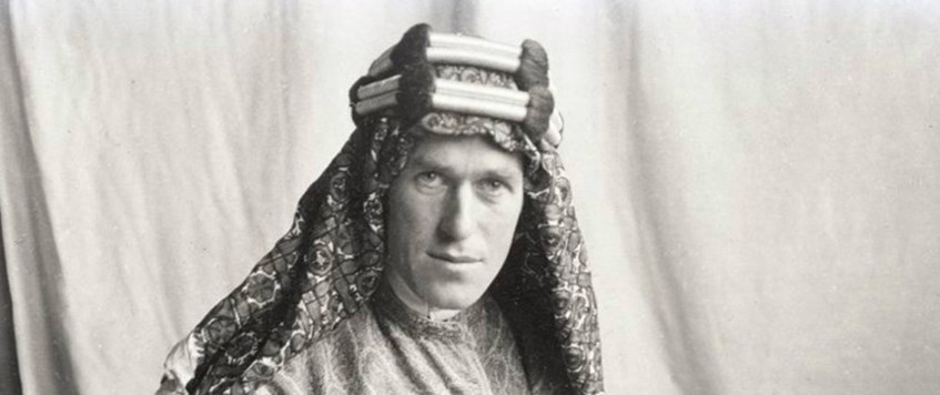 'Lawrence of Arabia: Man, Movie and Myth' with Dr John Peaty FRGS FRHistS