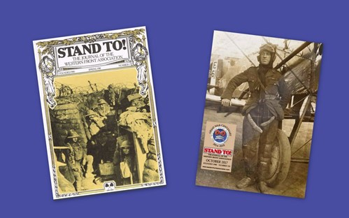 Stand To 1 To 110 Full Contents Listing The Western Front Association