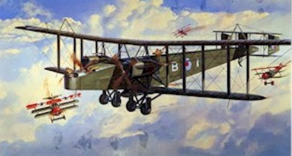 Bloody Paralyser - The Heavy Handley Page Bombers of the First World War