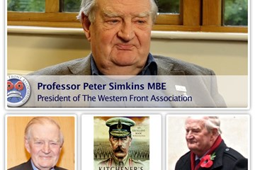 Congratulations to Professor Peter Simkins on turning 80 today