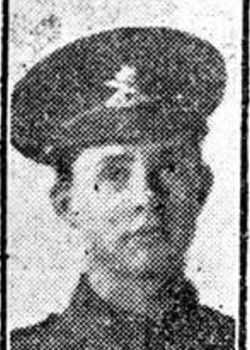 9 April 1917 : Gunner Ewart Doodson