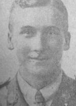 24 June 1917: Capt. William Parkinson Holt, Army Service Corps (attch'd 29 Squadron. Royal Flying Corps)