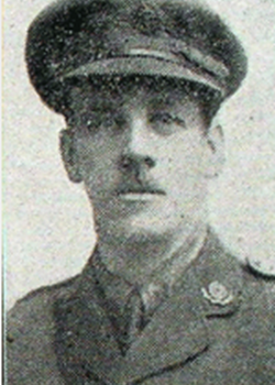 1 July 1916 : Lieut Charles Stonehouse, W Coy 11th Bn East Lancs Regt.