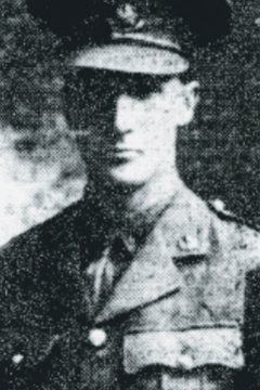 22 October 1914 : Lt Henry Noel Atkinson DSO