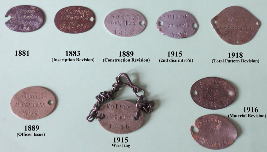 French Identification Tags