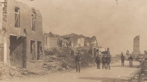 La Bassée after the fighting