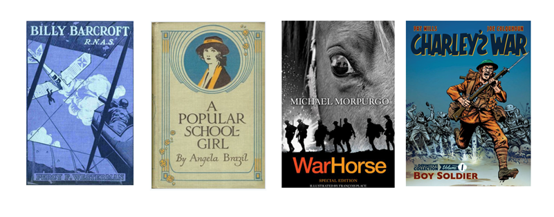 Children's Authors using the First World War as a theme