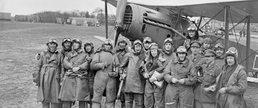 'The experience of the Royal Flying Corps on the Western Front' with Graham Kemp