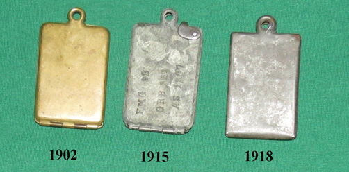 Austro-Hungarian Timeline for ID Tags 1902-1918