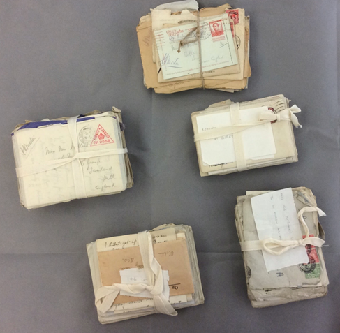 A bundle of letters from the Liddle Archive, Leeds University