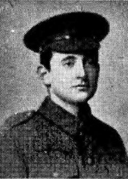 6 March 1915 : Rifleman Basil Heathcote Clarke
